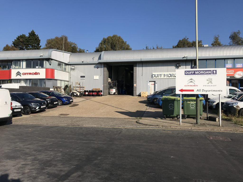 Wensum Point Industrial Estate